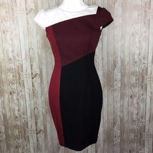 White House Black Market Midi Dress Size 00